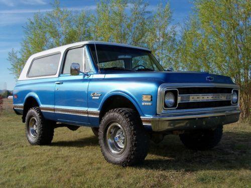 1970 Chevrolet Blazer K5 Cst 4x4 Nice Dry Western High Desert