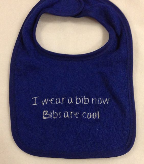 Bibs are Cool Doctor Who Inspired Bib by YouHungTheMoon on Etsy