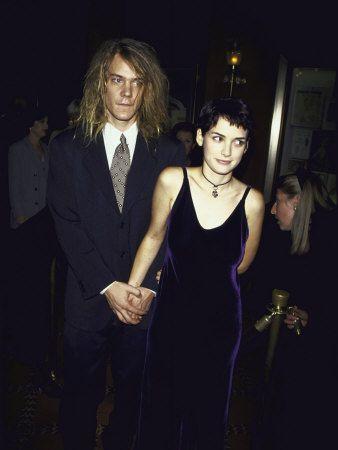 Dave Pirner & Winona Ryder via Lizzy Keil