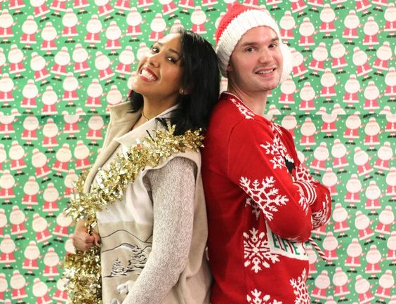 Christmas is almost here !! And with that, comes tons of ugly sweater  parties... At least for me and my friends that is.  I actually have never been to an ugly Christmas sweater party before this  past week... and now i've had two in a matter of a few days.   This event was in partnership with SendMe, where my roommate Adrienne (  She's the beautiful gal in the picture above with me )has the opportunity  to act as the provincial coordinator for the incredible organization, where  she…