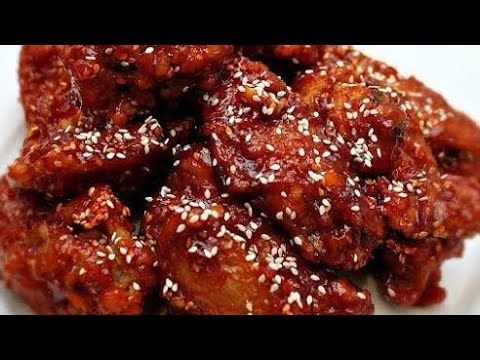Resep Ayam Pedas Madu Wijen Yangnyeom Tongdak Youtube Food Pedas Food And Drink