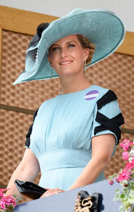 20 June 2018 - The Countess of Wessex wore an Emilia Wickstead jumpsuit to Royal Ascot looked amazing.