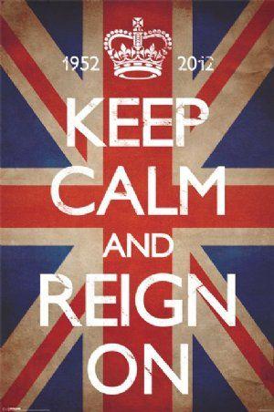 Keep Calm & Reign On - Keep Calm and Carry On