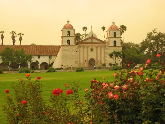 Santa barbara Mission: California Mission Project, Favorite Places, Calif Missions, Mission Santa, Barbara Mission, Aly Mission, Mission Church