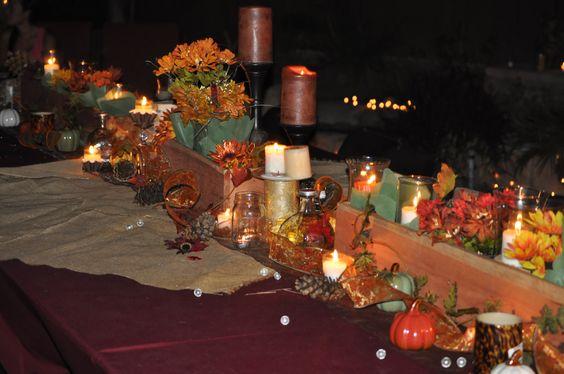 Harvest Party Centerpiece