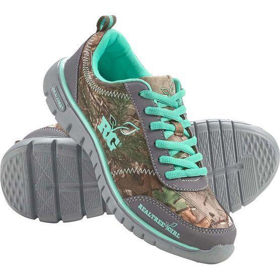 New Realtree Girl Camo Shoes