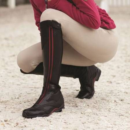 The Ariat Volant Tall Front Zip boots have an innovative