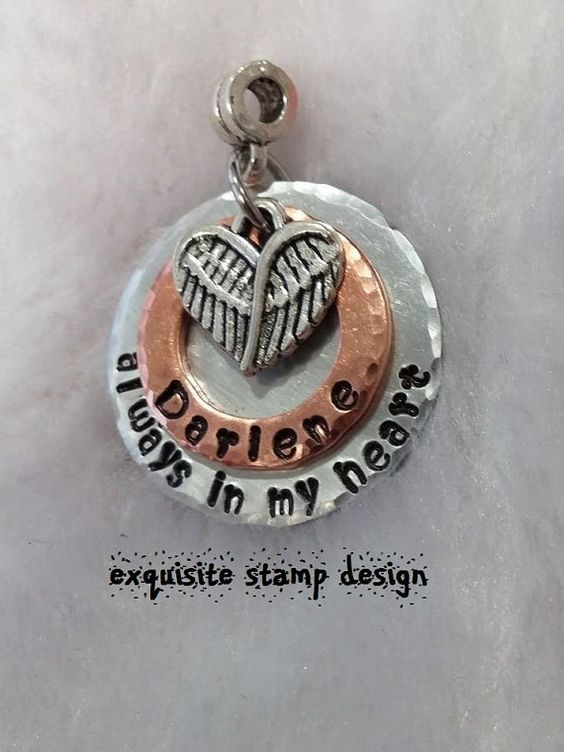 Always In My Heart  Layered Necklace  by ExquisiteStampDesign