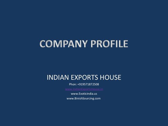 indian-exports-house-catalog-15652936 by Indian Exports House via Slideshare