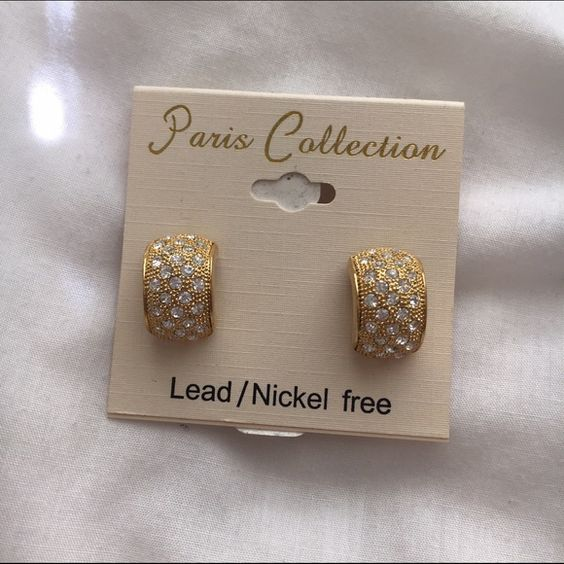 Paris earrings! These were a gift but I've never worn them. They're clip ons. Jewelry Earrings