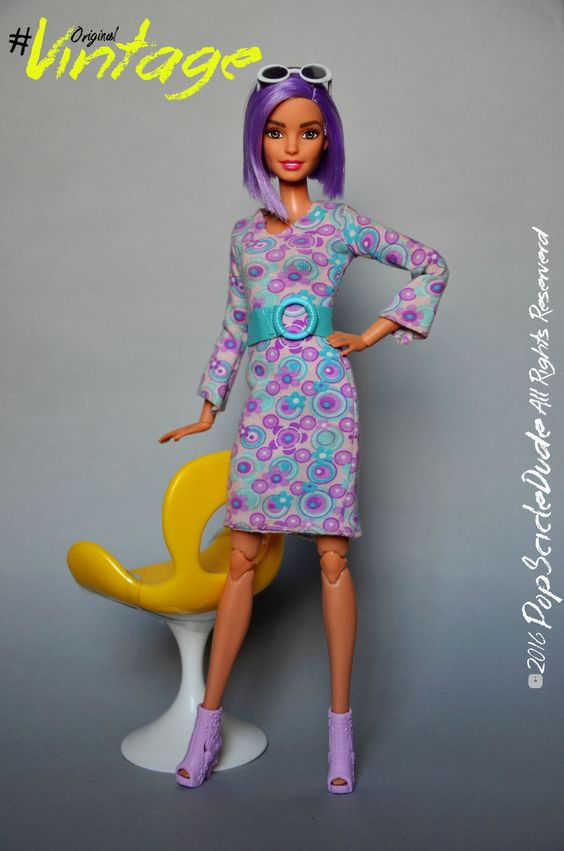 Fashion is not something that exists in dresses only. Fashion has to do with ideas, the way we live, what is happening.  #barbie #barbiestyle #mattel #dollcollector #dollcollection #barbiefashionsitas #TheDollsEvolves #originalvintage