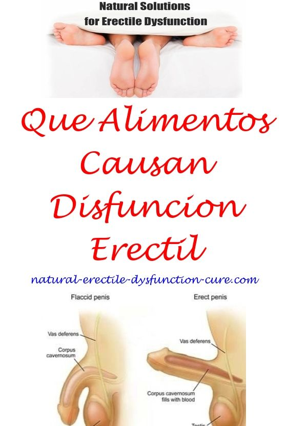 Disfuncion erectil causada por la diabetes