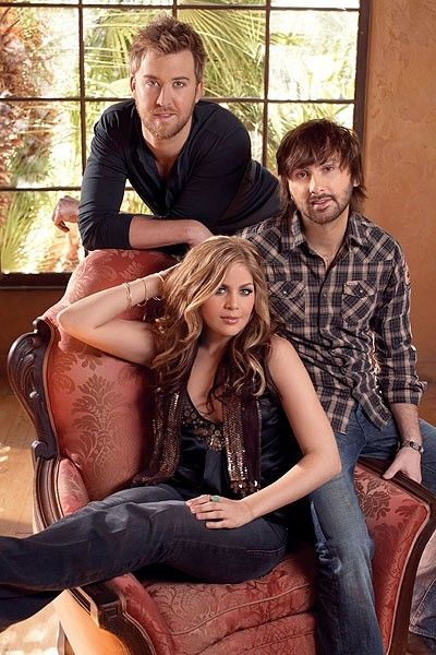Lady Antebellum <3 I got to see them in concert... I LOVED IT!