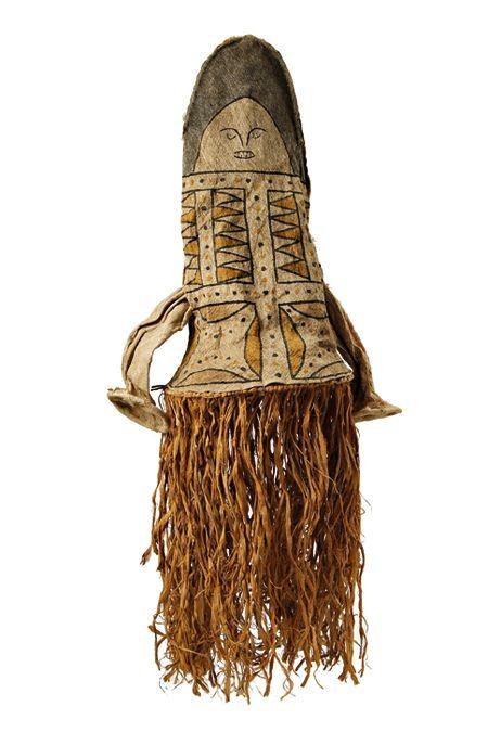 masques rituel du alto xingu - mato grosso - brasil