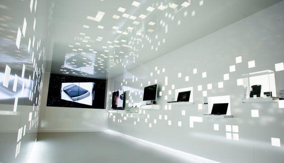 Showroom high-tech à Cannes, réalisé par Profil-Design