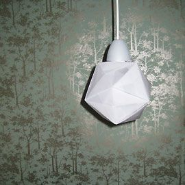 Origami lamp - Hanna Charlotte Müller