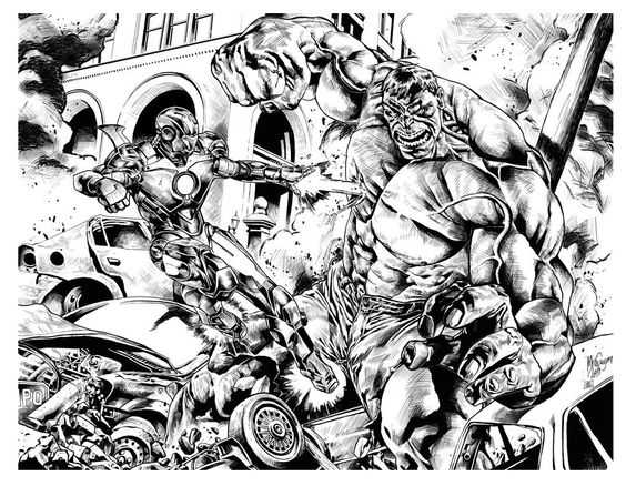 attractive hulk and ironman coloring pages inspiration coloring