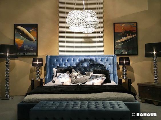 Blu Sky #RAHAUS #Bett #bed #schlafen #sleeping #Schrank #Kissen
