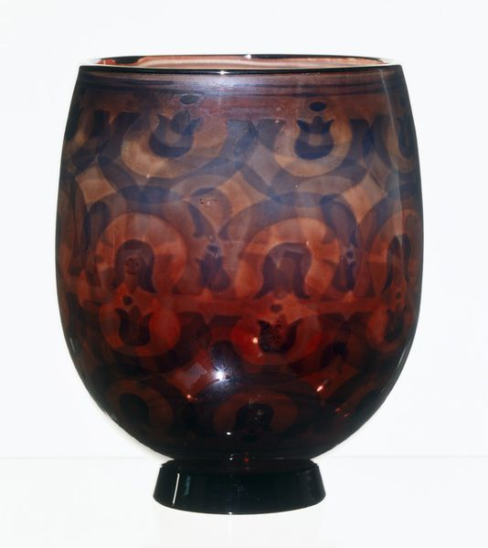 Simon Gate (Swedish, 1883-1945), Orrefors, Graal Glass Vase.