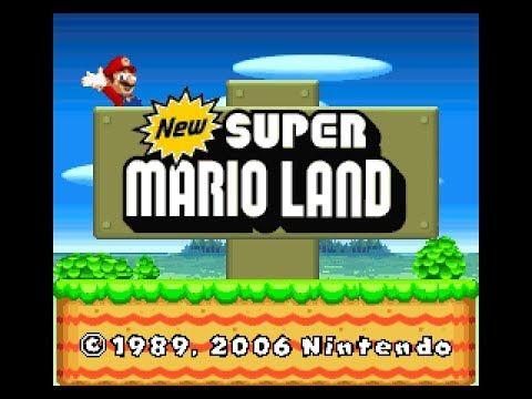 Descargar New Super Mario Land Una Revisión Del Mario Land De Game Boy Adaptado A La Super Nintendo Usan Juegos Pc Videojuegos Clásicos New Super Mario Bros