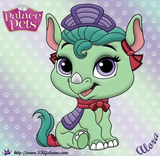 Princess Palace Pet Coloring Page Of Alora Princess Palace Pets