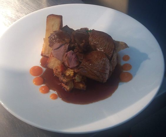 Sunday Roast Beef at its best.