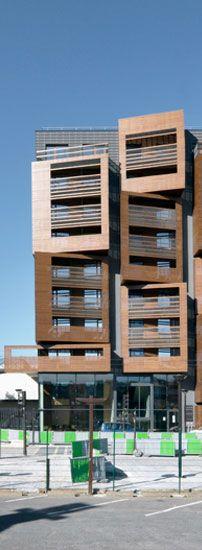 Paris - Studentischer Wohnungsbau