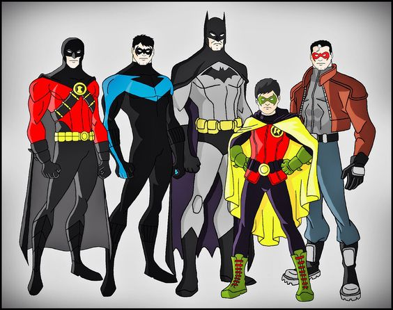 Pinterest • The world's catalog of ideas Nightwing And Red Robin