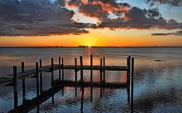 Say Goodnight - by HH Photography of Florida  #sunset #tropical #Florida #wallart #homedecor via @hhphotography3