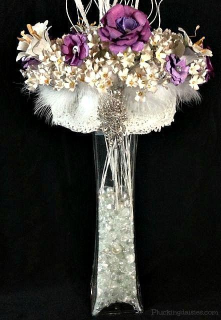 paper flower centerpieces - Google Search