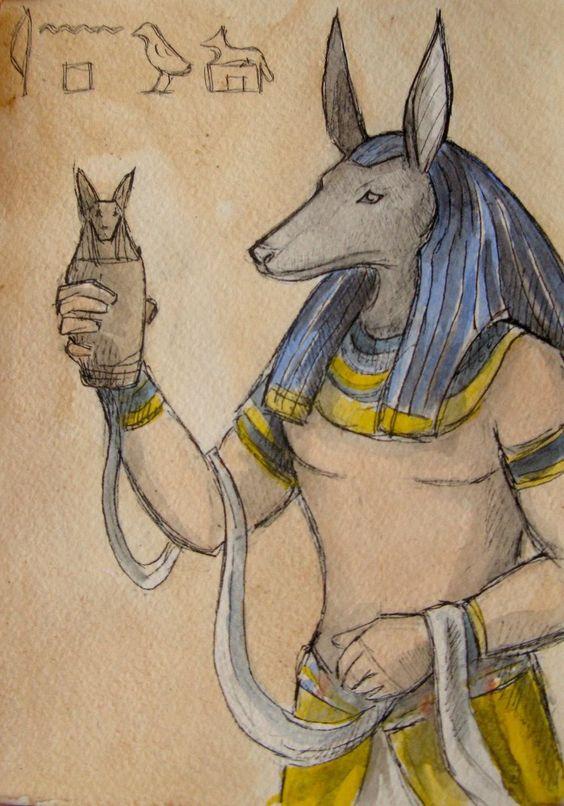Anubis by AnotherStranger-Me.deviantart.com on @DeviantArt
