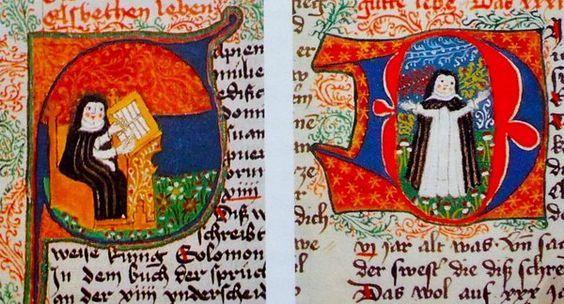 Covent Garden #manuscriptthetube Nuremberg Katharinenkloster copy, in Jenneka Janzen's blog https://medievalfragments.wordpress.com/2013/07/12/the-boring-ugly-and-unimportant-biases-in-manuscript-research/ …