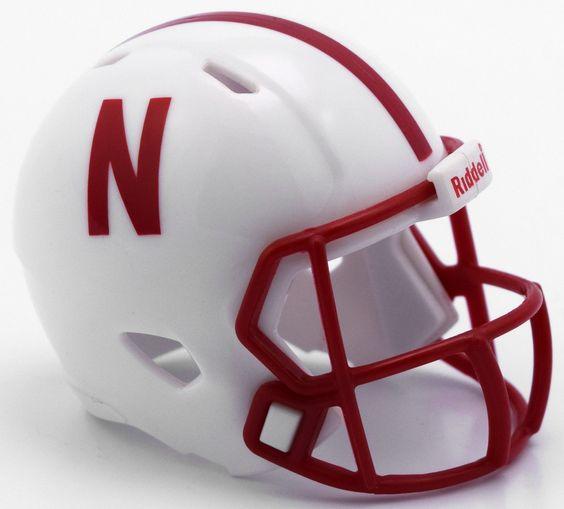 Must have product now available: NCAA Nebraska Cor... Get it here! http://www.757sc.com/products/ncaa-nebraska-cornhuskers-pocket-pro-mini-micro-speed-helmet?utm_campaign=social_autopilot&utm_source=pin&utm_medium=pin