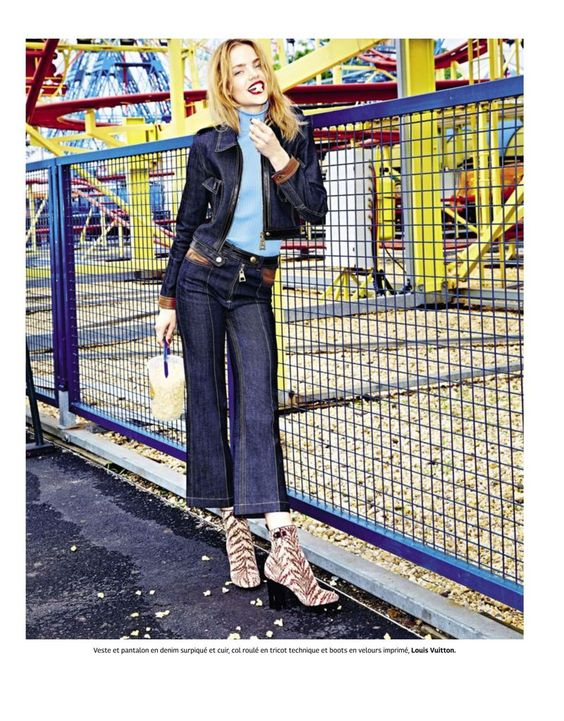 """Coney Island Baby"" Svea Kloosterhof for Grazia France August 2015"