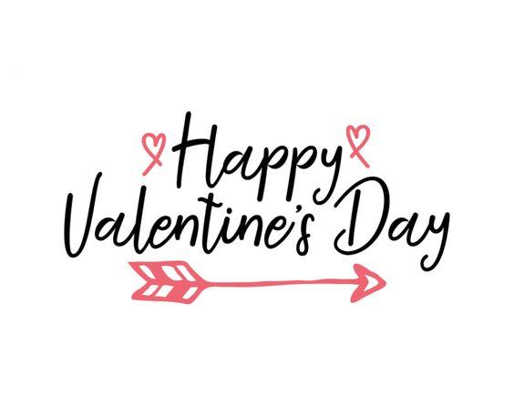 Free SVG cut file - Happy Valentine's Day
