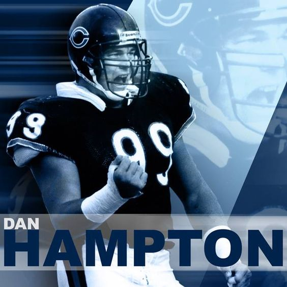 Dan Hampton, DE - Chicago Bears