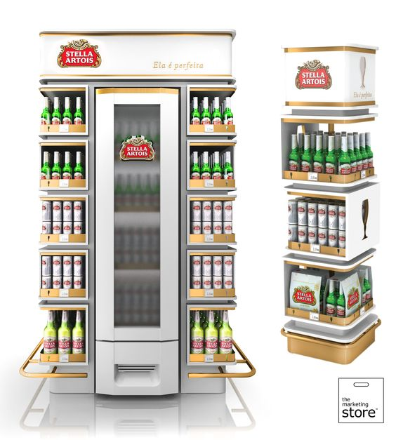 Stella Artois End Of And Display On Pinterest