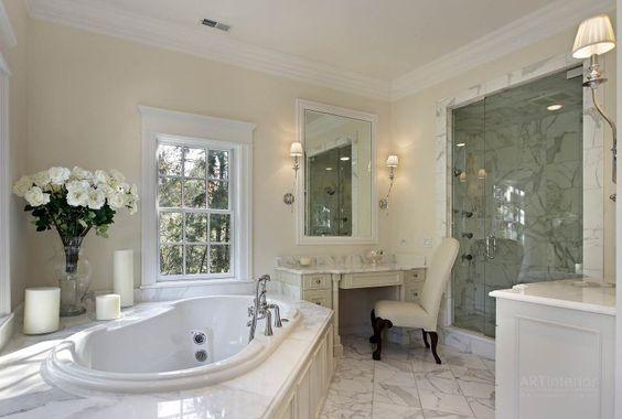 Дизайн интерьера ванной комнаты от «Artinterior»