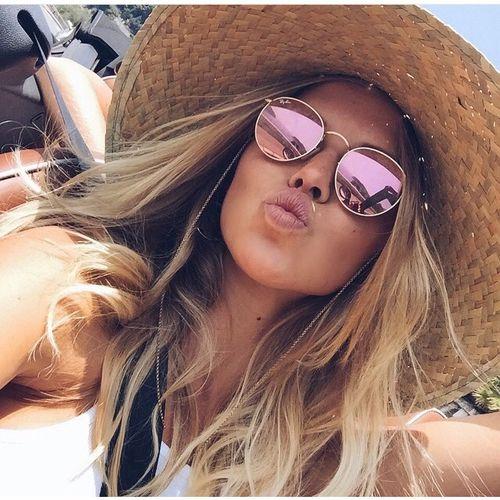 Óculos de Sol Feminino 2020 Espelhado