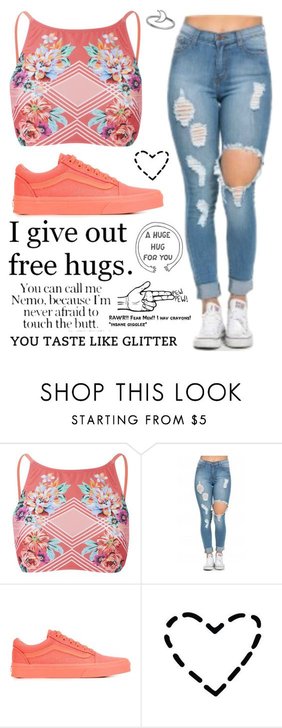 """""""Random #230"""" by maddyisaunicorn ❤ liked on Polyvore featuring MINKPINK, Vans and Midsummer Star"""