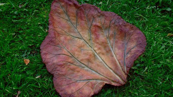 Resultado de imagen para hypertufa leaves