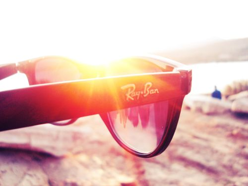 Summer sunglasses sunlight