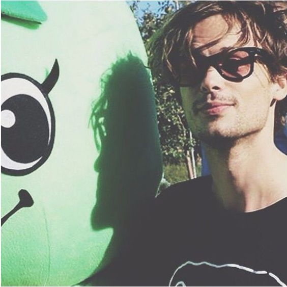 Matthew Gray Gubler........I am hopelessly devoted to this man!!! ❤️