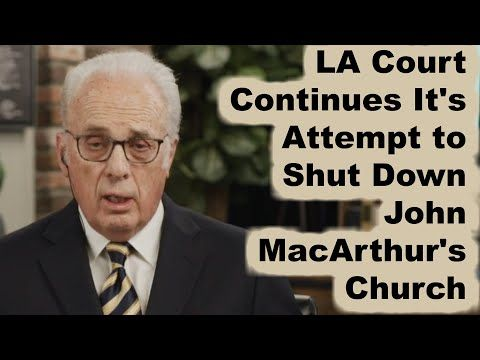 Youtube Parkside Church Christmas Eve 2020 Worship Service John MacArthur   LA Court Continues To Try To Shut Down Grace