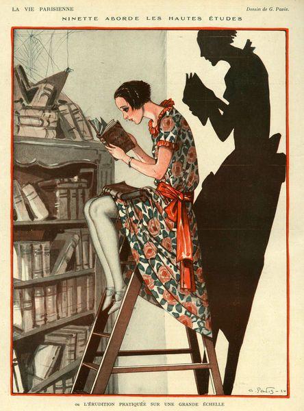 La Vie Parisienne, 1924, Georges Pavis.