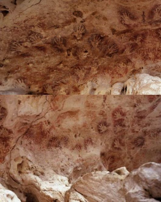an analysis of the characteristics of paleolithic cave paintings Full-text paper (pdf): analysis of rock art painting and technology of paleolithic   relative proportions of each mineral phase, characteristic of.