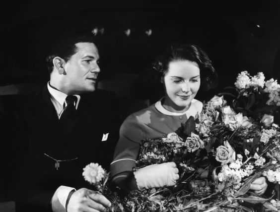 John Garfield with Beatrice Pearson