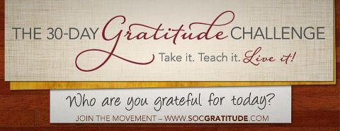 NOW and for the next 30 days would be the best time to TEACH the 30 GRATITUDE Challenge. If you become an MD and teach other to do the 30 challenge you get a chance to win $1,000 each day for the next 30 days!!! Join me TODAY!!!!   www.socgratitude.com/128960