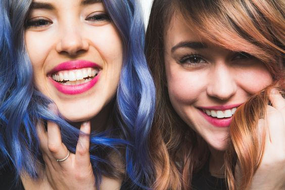 Don't forget to check out our blue hair color tutorial for blondes, too!                   Image Source: POPSUGAR Photography / Benjamin Stone