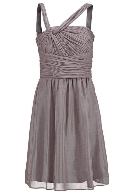 #Esprit #Collection #Cocktailkleid #/ #festliches #Kleid #dark #nougat für #Damen -